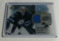 CONNOR HELLEBUYCK - 2015/16 UPPER DECK ICE - ROOKIE JERSEY - JETS -