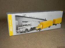 Schuco Piccolo Krupp LKW Truck & Trailer Deutsche Bundespost  FREE US SHIPPING
