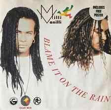 "MILLI VANILLI - Blame It On The Rain (12"") (G-VG/VG+)"