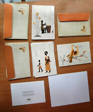 New Listing15 Greeting Cards Handcrafted by Women of Rwanda W Envelopes Unused