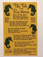 The Tale Of The Sea Horse Postcard