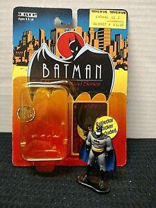 Batman Ertl Die Cast Figure/Batman the Animated Series/Loose w Packaging/1993