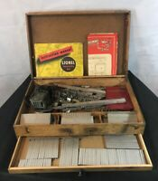 Antique Lionel Construction Kit #565??? - W/ Original Wood Box & Instructions