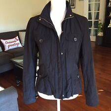Weekend MaxMara Woman's Taffeta Jacket, Black, Size Medium