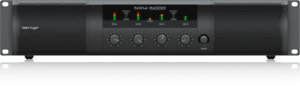 NEW Behringer NX4-6000 Power Amp Authorized Dealer. FULL MANUFACTURES WARRANTY