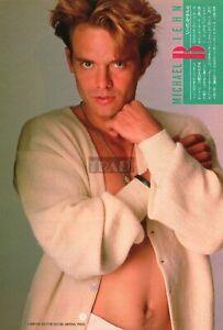 MICHAEL BIEHN / LEA THOMPSON 1987 Japan Picture Clipping 8x11.6 vh/m