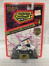 1994 Road Champs 1/43 Sprint Racer 6 Bulldog Coal Die Cast Metal & Plastic NIP