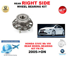 FOR HONDA CIVIC REAR WHEEL BEARING KIT Mk VIII FN FK RIGHT HAND SIDE 2005->ON