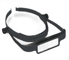 Donegan Black OptiSight® Binocular Magnifying Visor Set w/3, 4, & 5 Power Lenses