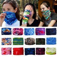 Magic Scarf Windproof Headband Printing Scarf UV Protection Face Shield Mask
