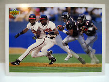 "1992 Upper Deck Deion Sanders SP3 ""Prime Time's Two"" Atlanta Falcons & Braves NM"