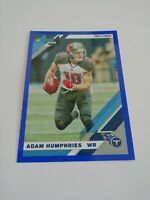 Adam Humphries Tennessee Titans 2019 Panini Donruss Press Proof Blue #237 NFL...