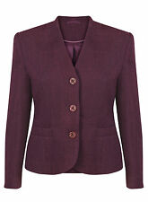 Button Wool Blazer Formal Coats & Jackets for Women