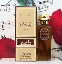 Caleche Bath Oil 1.0 Oz. By Hermes. Vintage