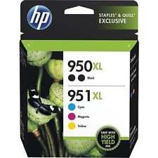 HP 950XL 951XL Combo-pack High Capacity Ink Cartridges f6v12fn C/Y/M/B  Exp 2019