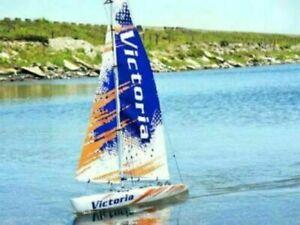 New TT RC Victoria Radio Control Sailing Yacht Kit 5556 v2017
