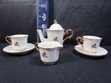 Beautiful  Lenox  Child's Tea Set   -   No Damage