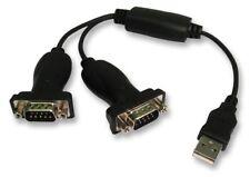 USB a 2x 9-pin Adattatore DA SERIALE-MASCHIO A MASCHIO-PRO SIGNAL
