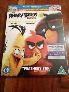 The Angry Birds Movie (BLU-RAY, 2016) *NEW/SEALED*