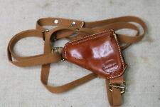 Berns Martin Lightnin' Leather Shoulder Rig Concealment Holster Small Revolver