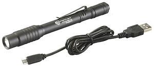 Streamlight 66134 Stylus Pro USB Rechargeable LED Penlight- 350 Lumens W/ Holste