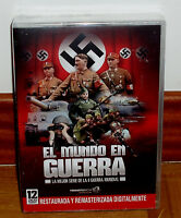 EL MUNDO EN GUERRA SERIE COMPLETA 12 DISCOS DVD NUEVO PRECINTADO RESTAURADA (R2)