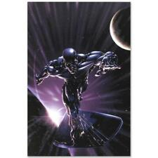 MARVEL Comics Numbered Limited Edition Silver Surfer Canvas Art