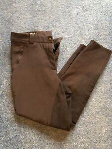 Ariat Mikelli Soft Shell Winter Breeches. Size 30 Reg