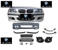 PARECHOC PARE CHOC PACK M M2 M3 BMW SERIE 3 E46 + 2 ANTIBROUILLARD + 2 PRISE HB4