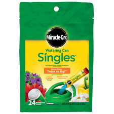 Miracle-Gro 1013203 Singles All Purpose Water Soluble Plant Food, 24-Pack