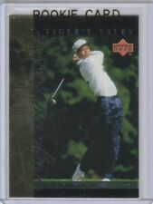 TIGER WOODS ROOKIE CARD Foil RC Golf Trading Upper Deck 2001 LE