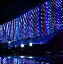 10M*3M 1000 LED String Curtain Fairy Light Wedding Christmas Xmas Garden 10Mx3M