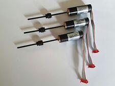 3x MAXON Getriebemotor + Encoder + Spindel und Spindelmutter