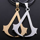 New Cosplay V Design Creed Necklace Chain Titanium Xmas Gift Pendant Choker
