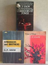 Lot of 3 CP Snow PBs:Corridors of Power,Strangers & Brothers,Time of Hope