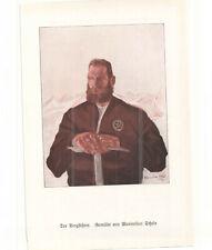 SCHELS Maximilian - der BERGFUEHRER -- alter Druck - Illustration - 1920er Jahre
