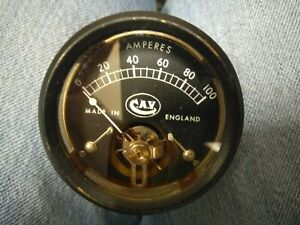 Land Rover Series and Rover classic CAV Amperes Meter Gauge NOS 5539/146