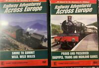 RAILWAY ADVENTURES ACROSS EUROPE Proud & Preserve – Shore to Summit Two DVDs