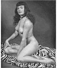 Art print busty leggy female girl nude woman photo picture model legs BETTY-wy