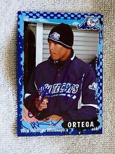 Detroit Tigers Jose Ortega Signed 2010 West Michigan Whitecaps Card Auto