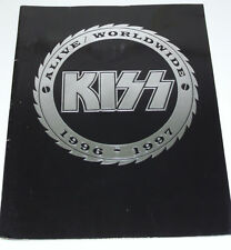 KISS Alive Worldwide 1996-1997 TOUR PROGRAMME  JAPAN