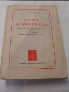BAUDIN - CORSO DI PSICOLOGIA - LIBRERIA EDITRICE FIORENTINA