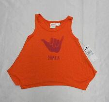 Roxy Kids Sz 5 Shirts Tank Tops Shaka Orange