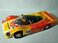 PORSCHE  962  USINE  SHELL  SCALEXTRIC  GB  SLOT  NO  NINCO  FLY  CARRERA
