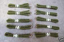 BULK BUY - Pack of 10 x OLIVE GREEN Trouser Elastic Twists - Army Cadets