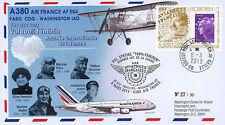 """A380-203T5 FFC """"Airbus A380 Air France Flight 100% Female Paris-Washington"""" 2013"""