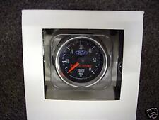 FORD RACING BOOST GAUGE 52MM BLACK FACE NEW RELEASE