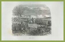 Napoleone Bonaparte battaglia di Jena Bataille d'Ièna Vernet Norvins 1841