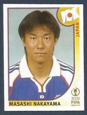 PANINI KOREA/JAPAN WORLD CUP 2002- #544-JAPAN-MASASHI NAKAYAMA