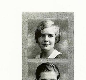 FRANCES FARMER  High School Yearbook